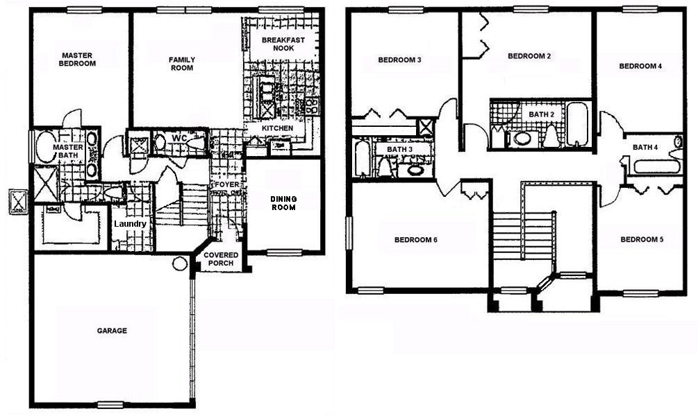 Marlborough 1 Floorplan