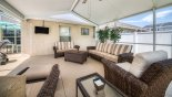 Madison + 3 Villa rental near Disney with Luxury Outdoor Living Room With Smart TV
