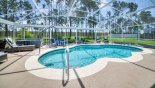 Beautiful sunny east facing pool with loads of space to have fun & sunbathe - www.iwantavilla.com is your first choice of Villa rentals in Orlando direct with owner
