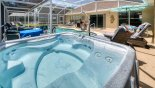 Real Jacuzzi spa which is independently heated from Highlands Reserve rental Villa direct from owner
