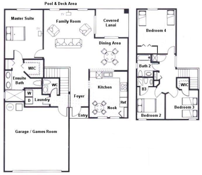 Sandlewood + 1 Floorplan