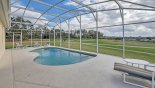 Wynnewood 2 Villa rental near Disney with Pool deck with 4 sun loungers - house sits on pie shaped plot so no close neighbours