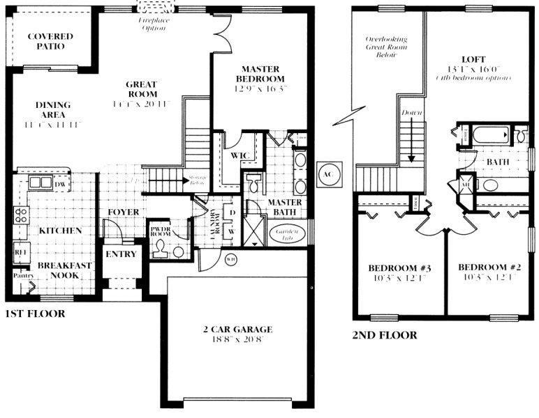 Belmonte 3 Floorplan