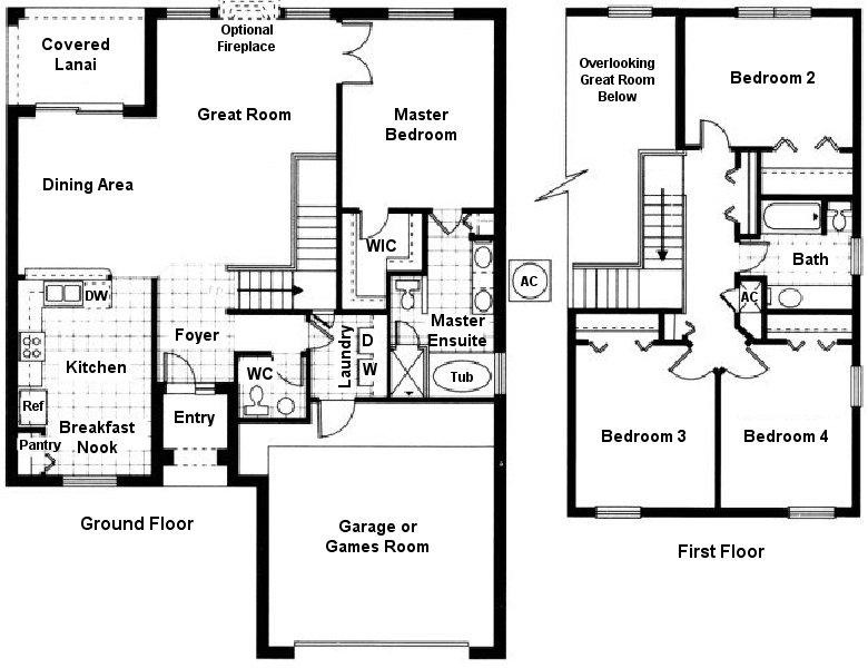 Belmonte + 4 Floorplan