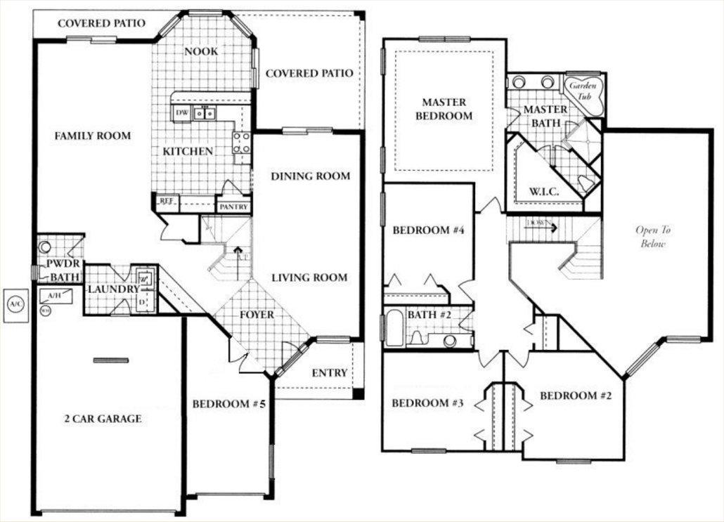 Huntington 2 Floorplan