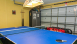 Orlando Villa for rent direct from owner, check out the Games room with pool table converted into table tennis