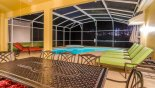 Villa rentals near Disney direct with owner, check out the Covered lanai serves well as entertainment space in the evening