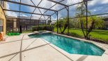 Pool deck gets the sun all day - www.iwantavilla.com is your first choice of Villa rentals in Orlando direct with owner