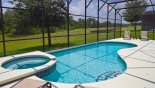 Spacious rental Emerald Island Resort Villa in Orlando complete with stunning Private pool & spa