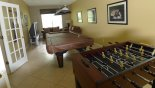 Charlotte Harbor 1 Villa rental near Disney with Games room with pool table, table foosball & large TV / PS3 & 2 comfortable sofas