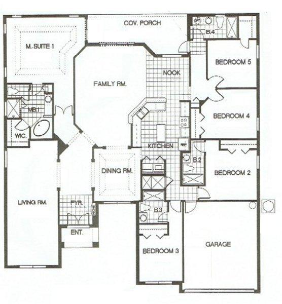 Charlotte Harbor 1 Floorplan