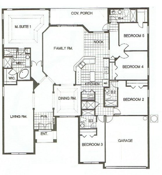 Charlotte Harbor 1 Floorplan