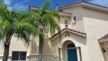 your courtyard villa entrance from Camellia 1 Villa for rent in Orlando