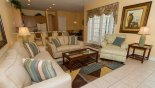 Captiva 1 Villa rental near Disney with Family room viewed towards kitchen