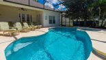 Spacious rental Formosa Gardens Villa in Orlando complete with stunning Sunny west facing pool