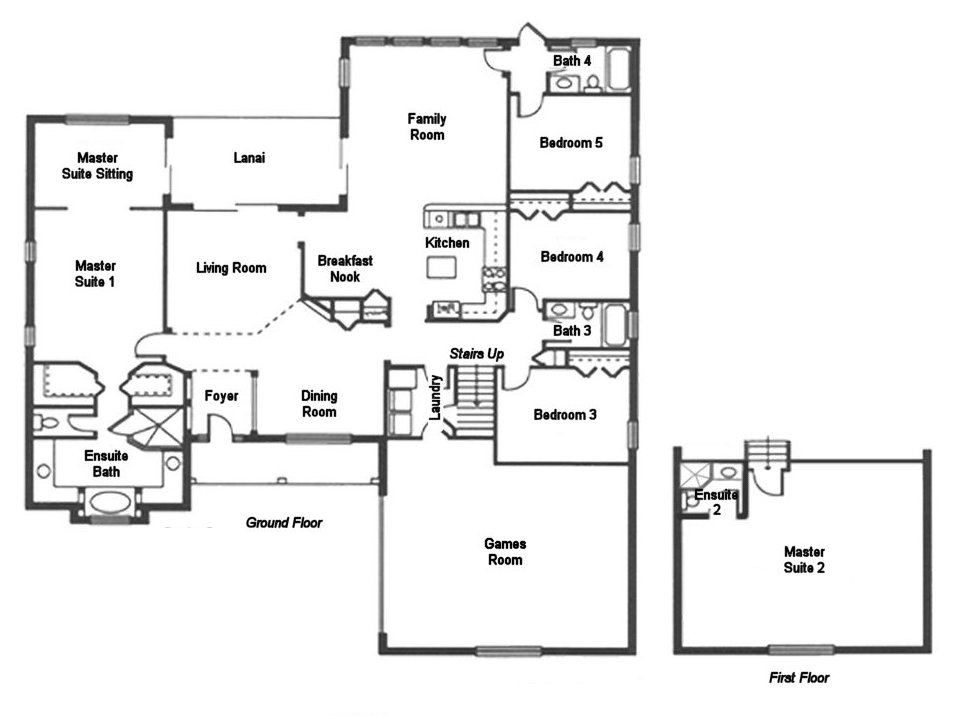 Captiva 1 Floorplan
