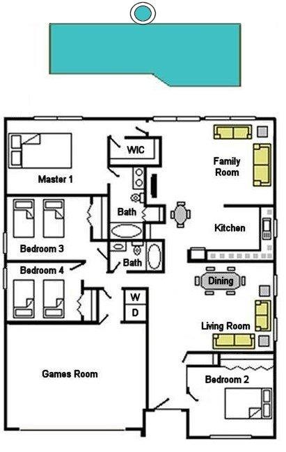 Sheldon Lake 1 Floorplan