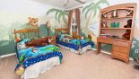 Canterbury 2 Villa rental near Disney with Twin bedroom 3 with jungle theming
