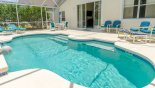 Spacious rental Highlands Reserve Villa in Orlando complete with stunning Sunny pool deck