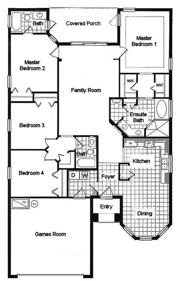Cypress 1 Floorplan