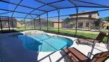Pool & spa from Cypress Pointe rental Villa direct from owner