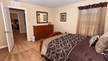 Bedroom 6 with this Orlando Villa for rent direct from owner