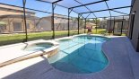 Pool & spa with this Orlando Villa for rent direct from owner