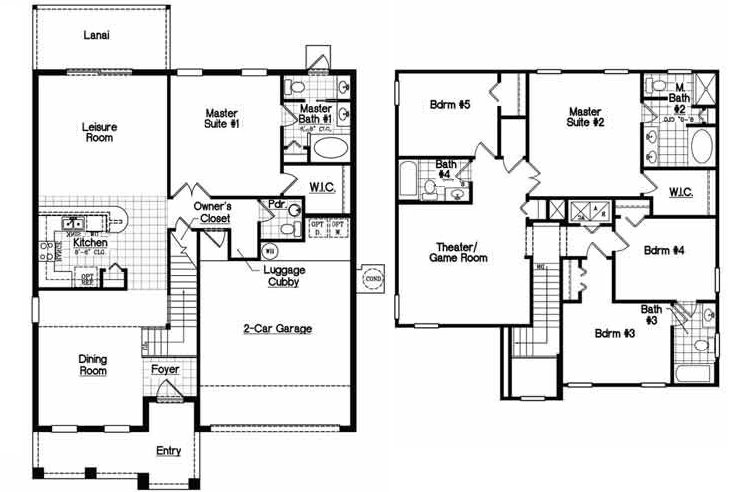 Bimini 1 Floorplan
