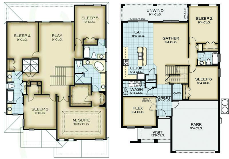 Coconut Palm 1 Floorplan