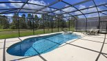 Orlando Villa for rent direct from owner, check out the View of pool & spa with open views