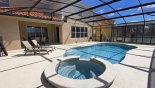 Belleair Beach 2 Villa rental near Disney with View of south facing pool & spa