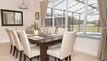 Villa rentals near Disney direct with owner, check out the Dining area seating 8 with great views onto pool deck