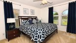 Villa rentals in Orlando, check out the Master 2 bedroom with king sized bed