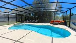 Orlando Villa for rent direct from owner, check out the Very private and sunny extended pool deck