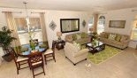Villa rentals near Disney direct with owner, check out the Living room & breakfast nook