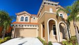 Spacious rental Watersong Resort Villa in Orlando complete with stunning View of villa from street