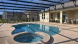Large extended pool deck will keep sun worshippers happy - www.iwantavilla.com is your first choice of Villa rentals in Orlando direct with owner