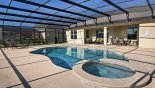 Spacious rental Watersong Resort Villa in Orlando complete with stunning View of pool & spa