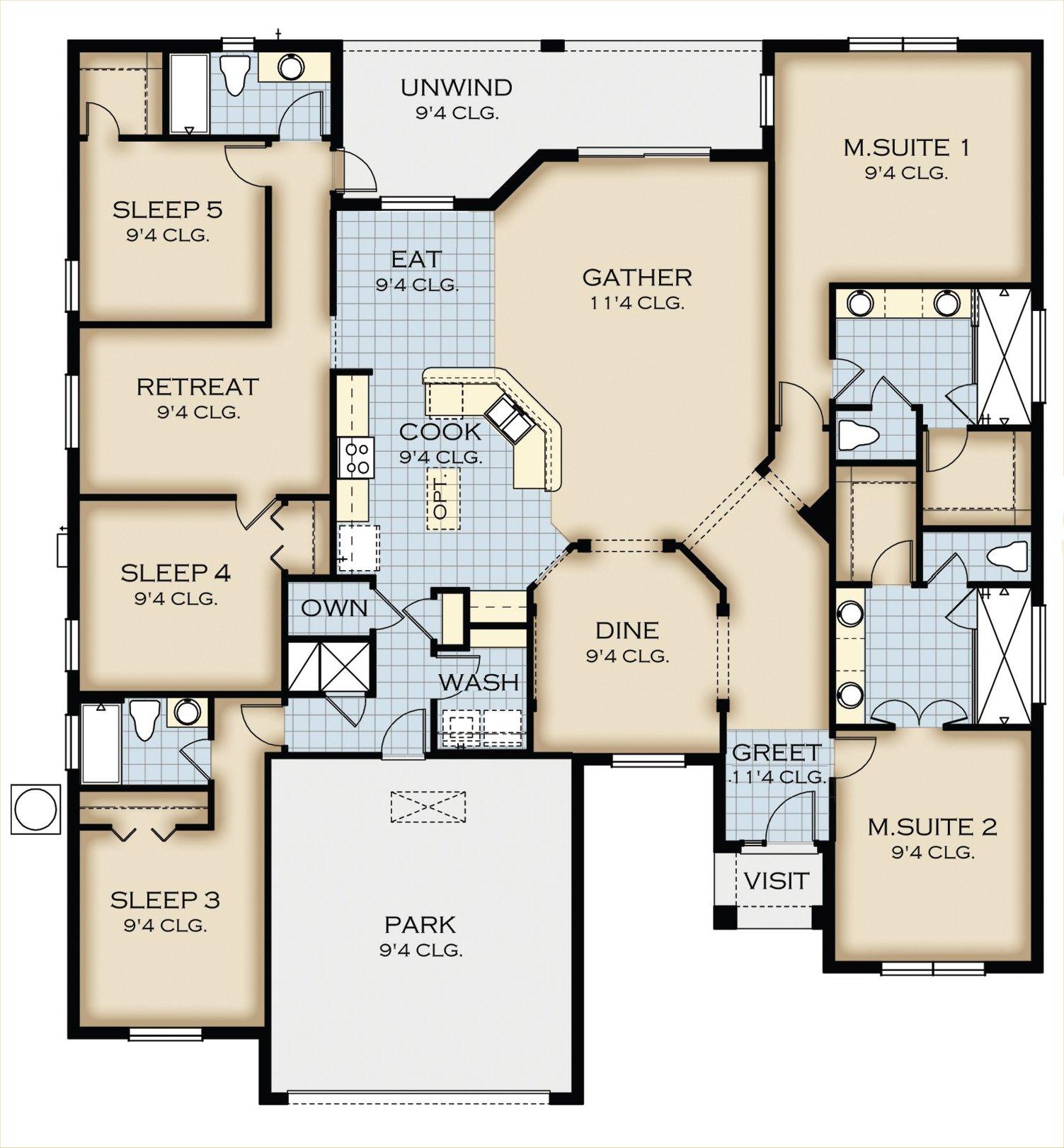 Crestview 4 Floorplan