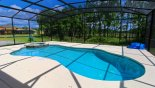 Spacious rental Watersong Resort Villa in Orlando complete with stunning Pool & spa with conservation views