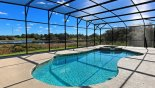 Orlando Villa for rent direct from owner, check out the Pool & spa with open lake views