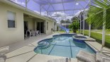 Darwyn 1 Villa rental near Disney with Pool & spa with 4 sun loungers