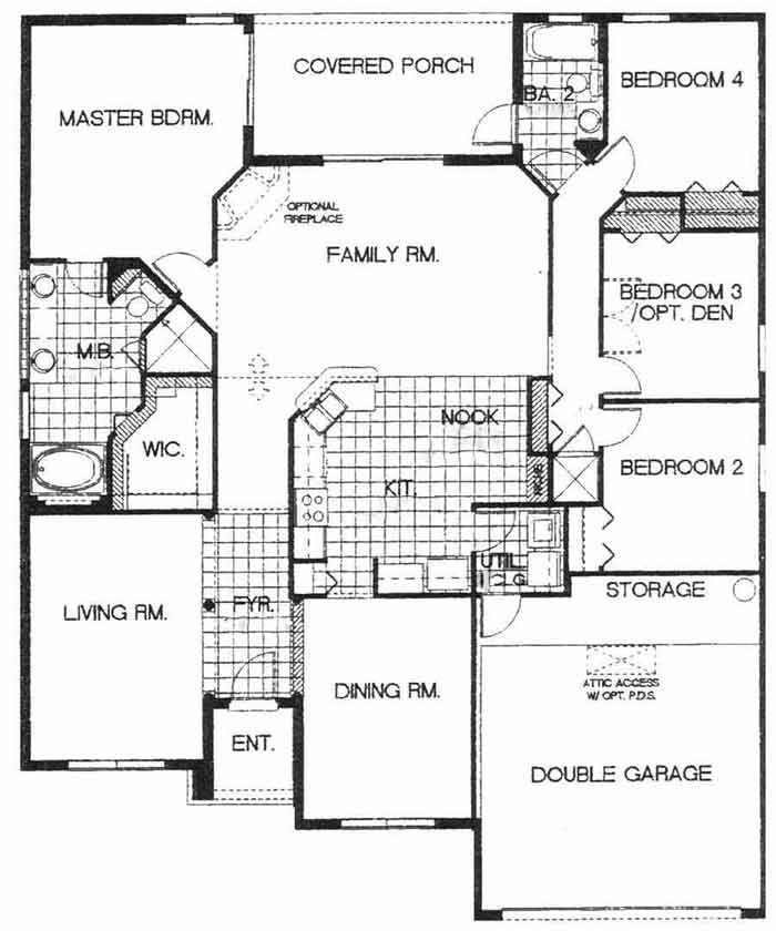 Darwyn 1 Floorplan