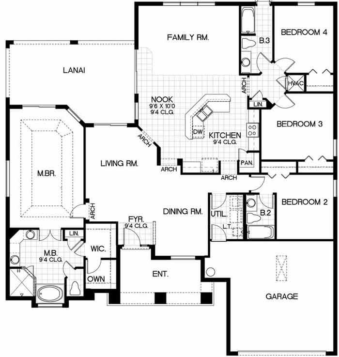 Oakmont 1 Floorplan