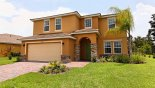 View of villa from street with this Orlando Villa for rent direct from owner