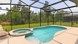 Orlando Villa for rent direct from owner, check out the Pool & spa with south facing conservation views