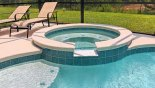 Attractive spa for you to enjoy a cocktail or two with this Orlando Villa for rent direct from owner