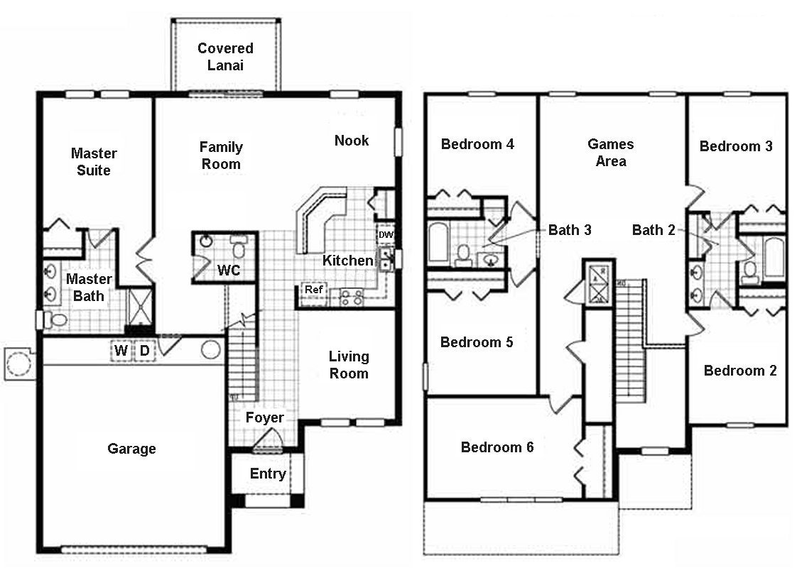Eagle Bay 1 Floorplan