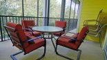 Orlando Condo for rent direct from owner, check out the View of private balcony as seen from master bedroom