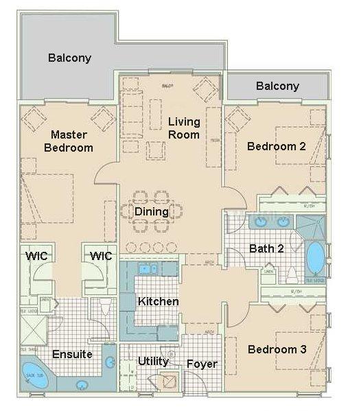 Grand Bahama 1 Floorplan
